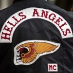 Motard Hells Angels