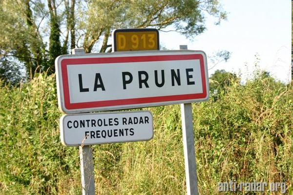 Radars qui flashent le plus en France