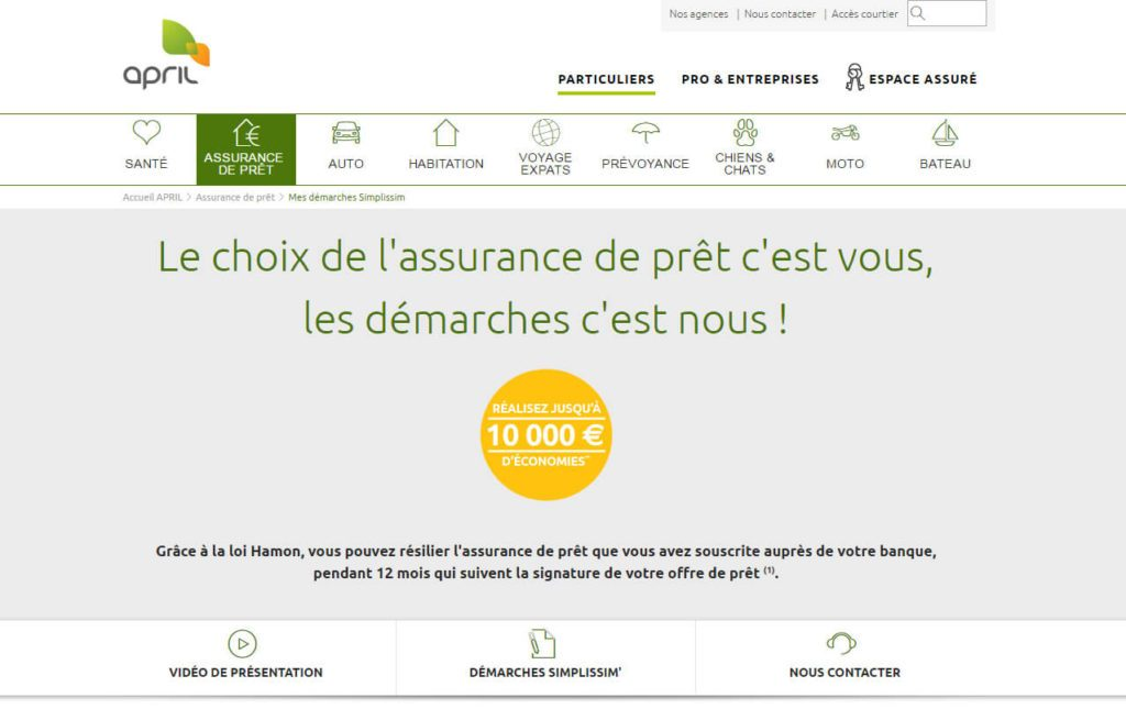 April Simplifie Le Changement D Assurance De Pret Immobilier