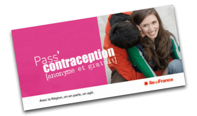 Le pass'contraception de la région Île-de-France