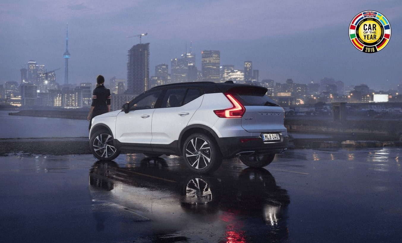 salon automobile de gen ve la volvo xc40 lue voiture de l ann e 2018. Black Bedroom Furniture Sets. Home Design Ideas
