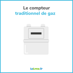 compteur traditionnel gaz