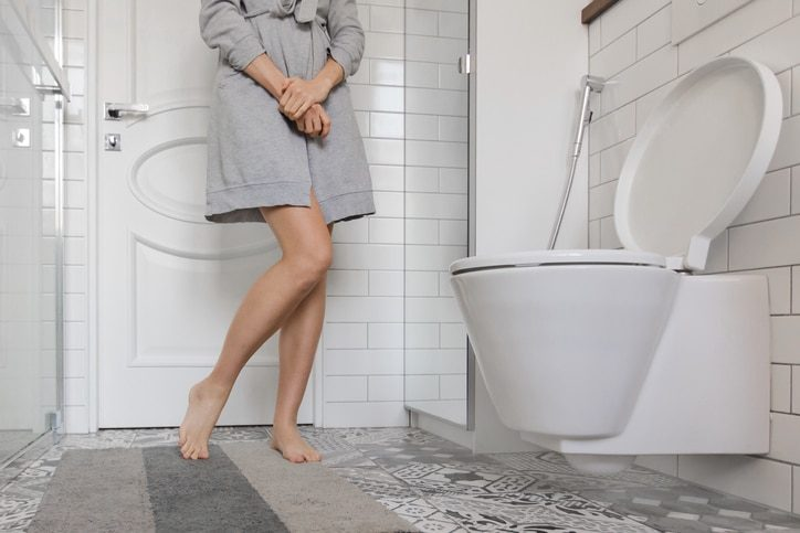 incontinence urinaire toilettes