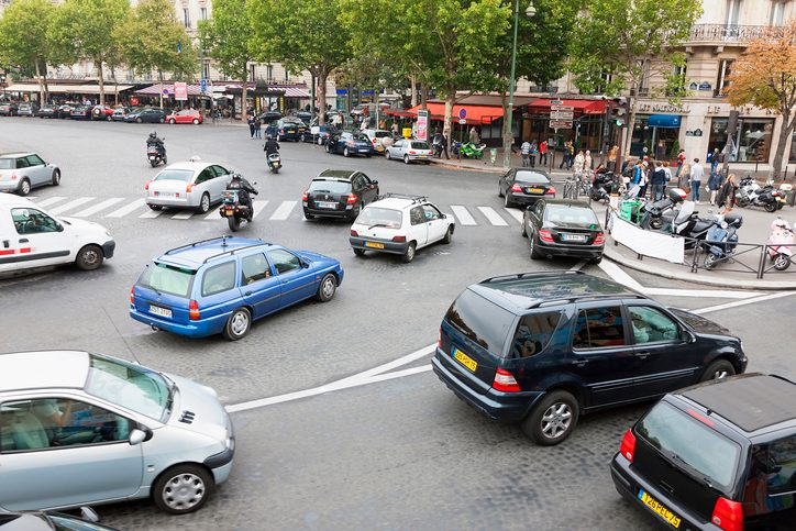 previsions trafic embouteillage paris