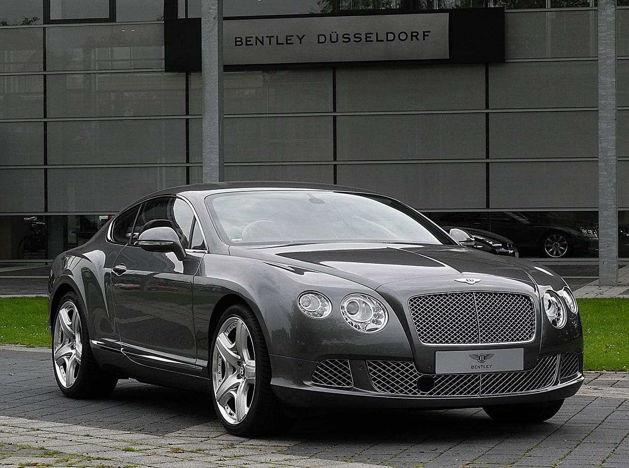 voiture sport bentley