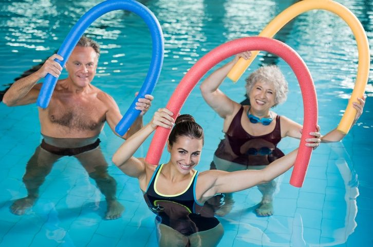 piscine aquagym senior
